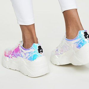 Alice + Olivia Claudine Sneaker in Iridescent